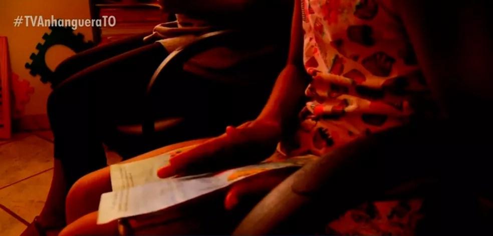Cresceu o número de casos de violência e abusos contra crianças  — Foto: Reprodução/TV Anhanguera