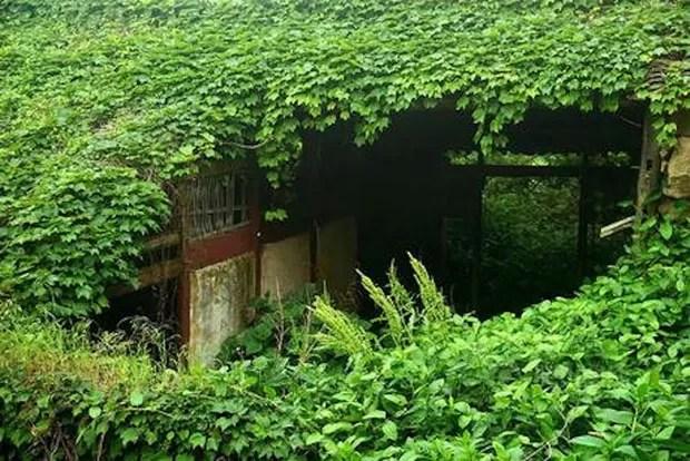 Vila abandonada (Foto: Tang Yuhong / Divulgação)