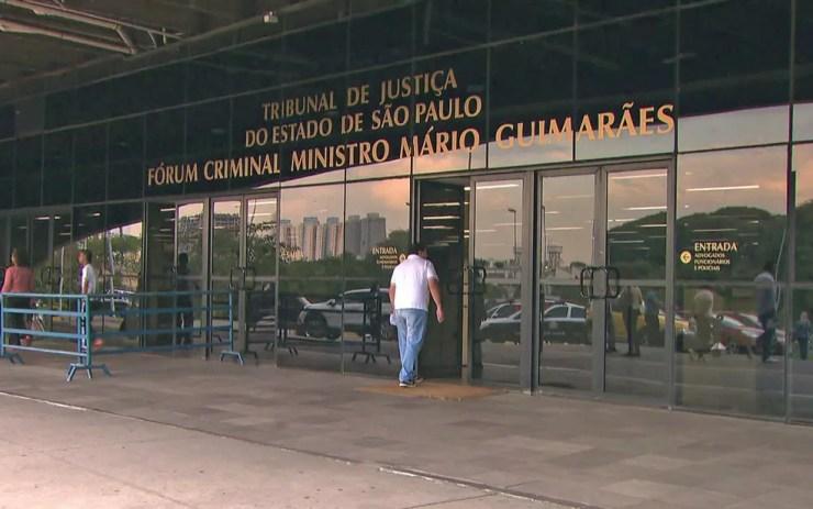 Fórum da Barra Funda, Zona Oeste de São Paulo — Foto: Reprodução/TV Globo
