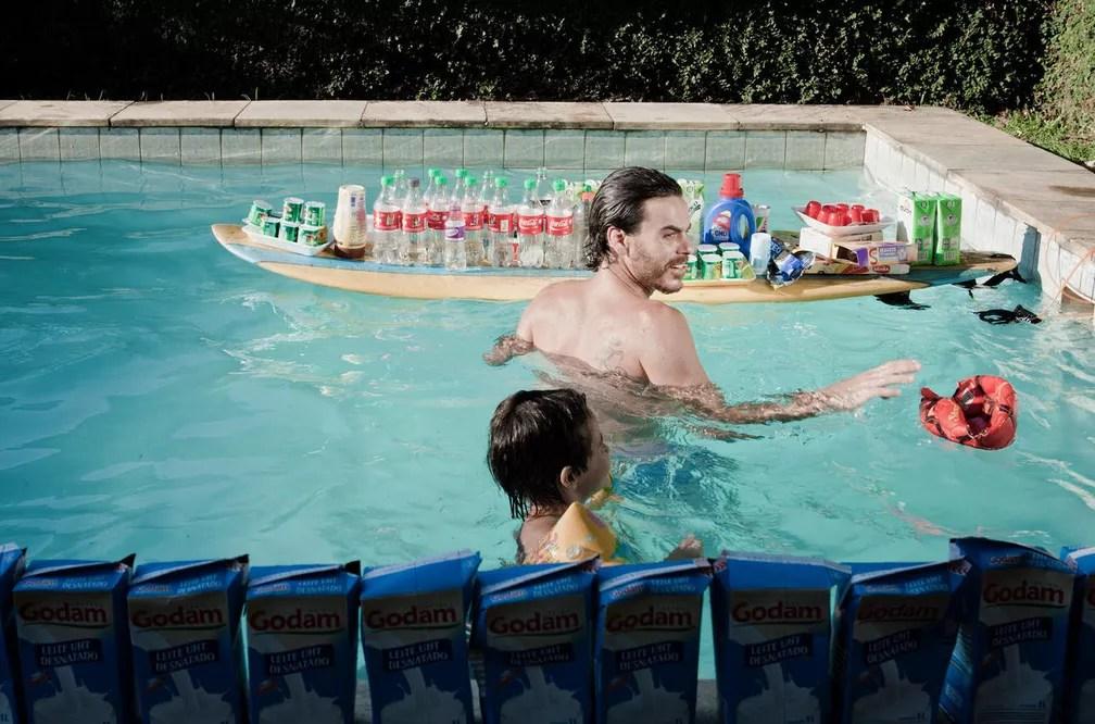 Homem que participou do projeto notou que estava bebendo refrigerantes demais. (Foto: Divulgação)