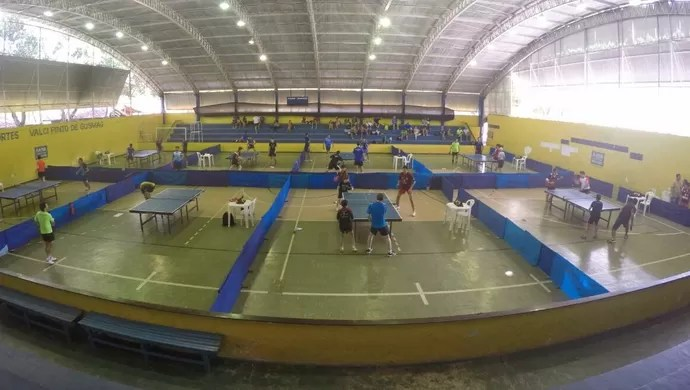 Copa Nacional Alagoana de tênis de mesa (Foto: Divulgação/FTM-SE)