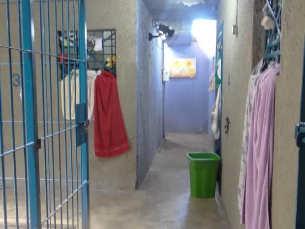 Casa de Custódia abriga presos provisórios (Foto: Carolina Sanches/G1)