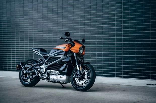 Harley-Davidson LiveWire (Foto: divulgação)