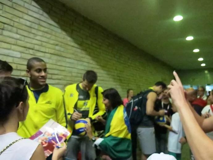 seleção masculina de vôlei (Foto: Danielle Rocha/GloboEsporte.com)
