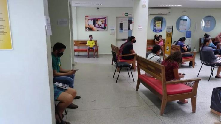 Policlínica Barral y Barral foi reaberta para atender pacientes com dengue em Rio Branco — Foto: Lidson Almeida/Rede Amazônica Acre