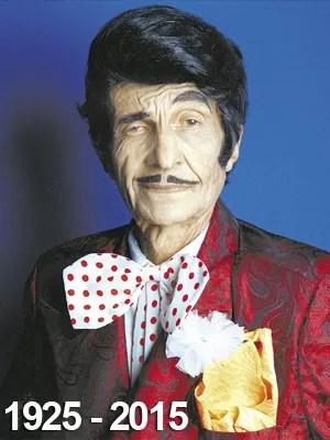 Jorge Loredo (em 400) - 1925-2015 (Foto: Ana Ottoni/Folhapress/Arquivo)