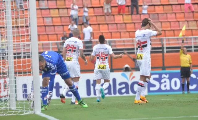 São Paulo x Palmeiras, Pacaembu, Campeonato Paulista 2016 (Foto: Agência Estado)