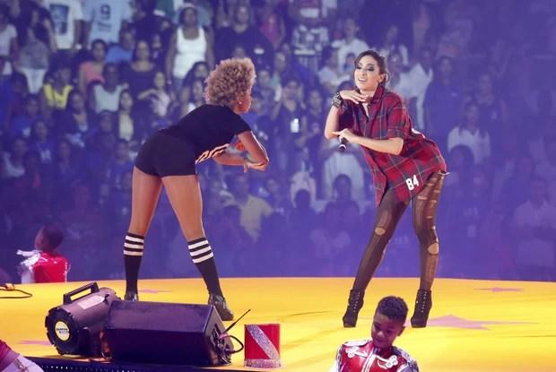 """Anitta no show """"Natal Mágico da Xuxa"""" (Foto: Felipe Assumpção /AgNews)"""