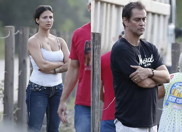 Carolinie e Antony (Foto: Ag News)