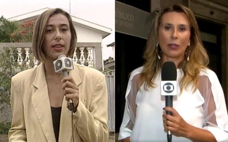 Tatiana Nascimento começou carreira de repórter na EPTV Ribeirão Preto. — Foto: Arte/G1