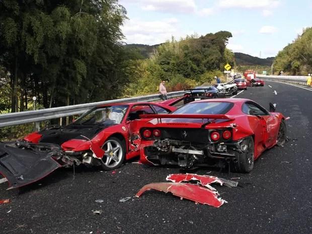 Por envolver modelos de luxo, acidente de 2011 foi apelidado de 'o mais caro do mundo' (Foto: Arquivo/AFP)