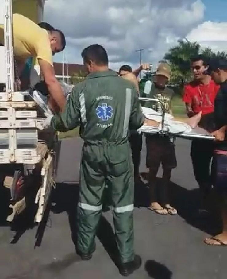 Direção do hospital no interior do Acre diz que passou cinco meses sem ambulância — Foto: Ducivan Bezerra