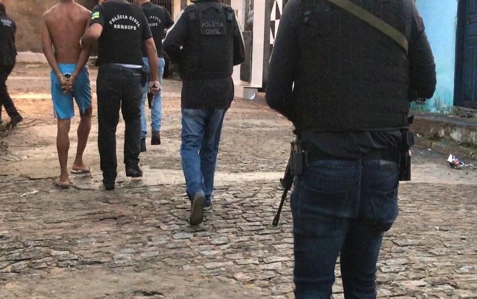 Até o momento treze pessoas foram presas na operação (Foto: SSP/Divulgação)