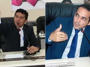 Ericláudio Alencar (à esquerda) e Paulo Lemos comentaram pedido de impeachment (Foto: Divulgação/Decom/Alap)