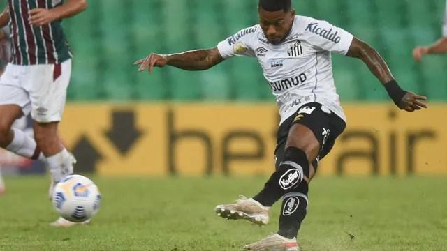 Marinho em Santos x Fluminense