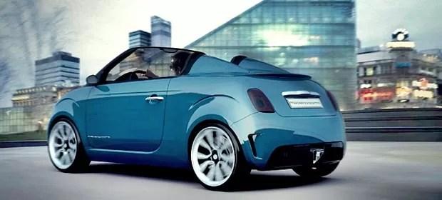 Fiat 500 estilizado (Foto: Divulgação)