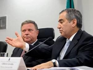 Ministro Carvalho participa de sessão na Comissão Comissão de Meio Ambiente, Defesa do Consumidor e Fiscalização e Controle  (Foto: Geraldo Magela/Agência Senado )