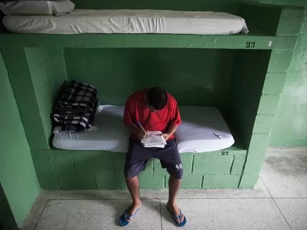 O jovem diz que descobriu seu potencial para os estudos dentro da Fundação Casa (Foto: Victor Moriyama/ G1)