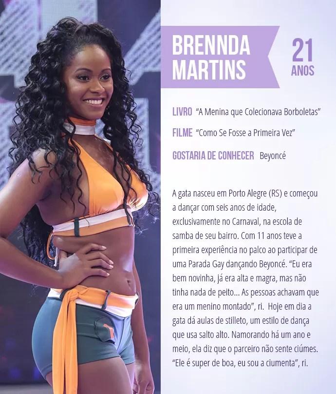 Saiba mais sobre Brennda Martins (Foto: Arte: Thays Malcher)