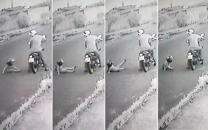 Imagens mostram menino de 4 anos agredido pelo padrasto em Sertãozinho, SP — Foto: Reprodução