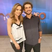 Encontro com Fátima Bernardes terça-feira 24/05/2016 – Programa recebe o ator Mateus Solanoe a atriz Ana Beatriz Nogueira