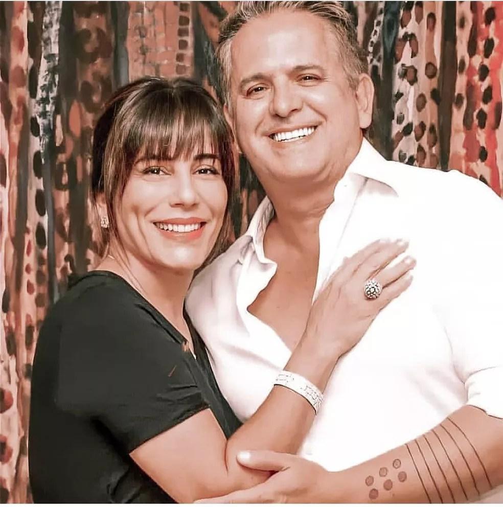 Orlando Morais é casado com a atriz Glória Pires — Foto: Redes Sociais / Reprodução
