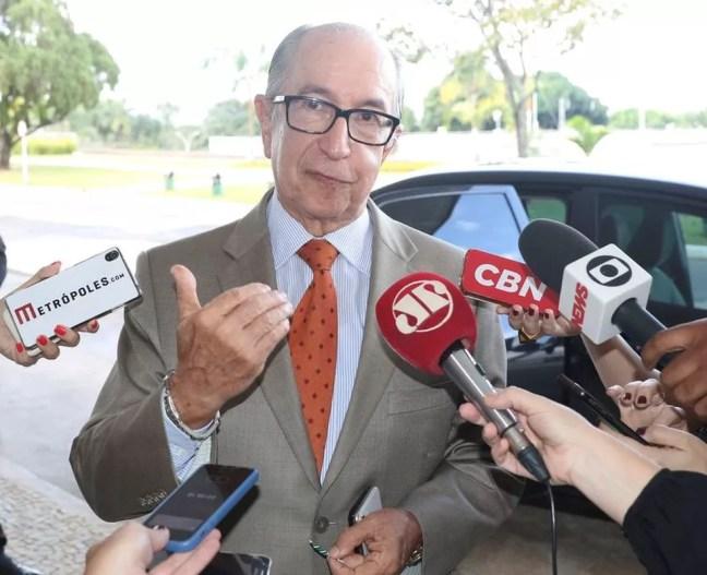 O secretário especial da Receita Federal, Marcos Cintra — Foto: Valter Campanato/Agência Brasil