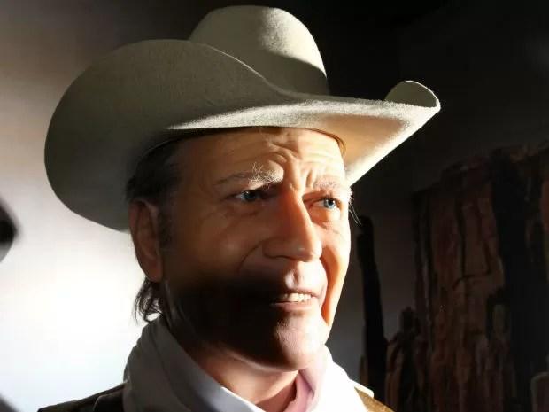 John Wayne (Foto: Divulgação/ Dreamland - Museu de Cera)