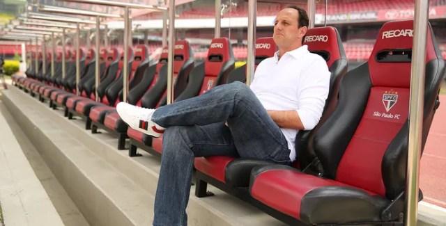 Rogério Ceni Técnico do São Paulo (Foto: Igor Amorim/saopaulofc.net)