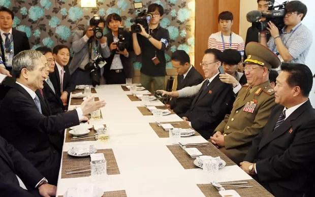 Coreias vão retomar negociações (Foto: AFP)