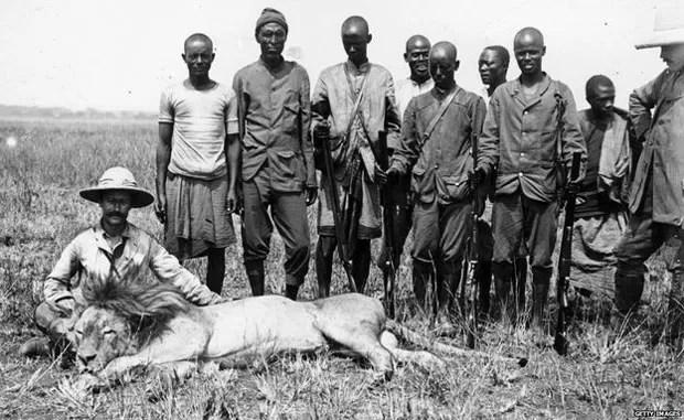 Caçadas ajudaram a dizimar o leão-do-atlas no século 20  (Foto: Getty Images)