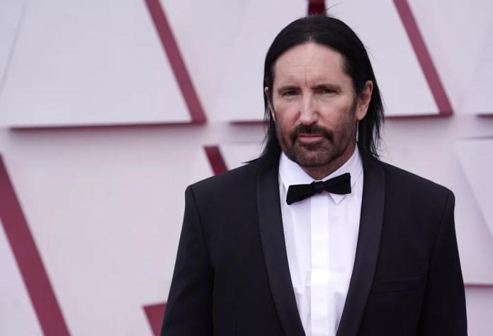 Trent Reznor no Oscar 2021 — Foto: AP Photo/Chris Pizzello