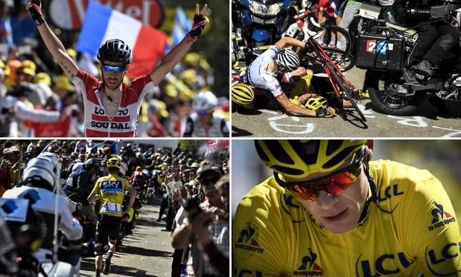 De Gendt comemora vitória; Froome se acidenta, mas consegue manter a camisa amarela de líder geral; e corre uns metros da prova como um maratonista, sem a bicicleta. A 12ª etapa do Tour de France foi uma loucura