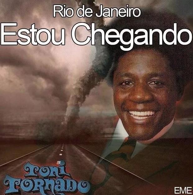 Brincadeiras como ator Tony Tornado (Foto: Reprodução/Facebook)