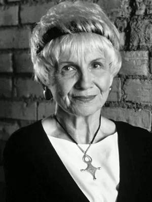 A escritora canadense Alice Munro (Foto: Divulgação/Cia das Letras)
