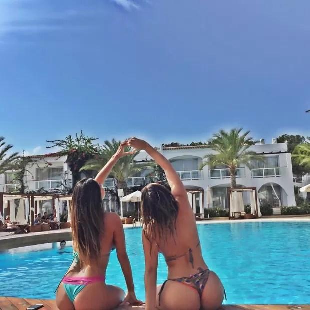 Anamara em Ibiza (Foto: Instagram / Reprodução)