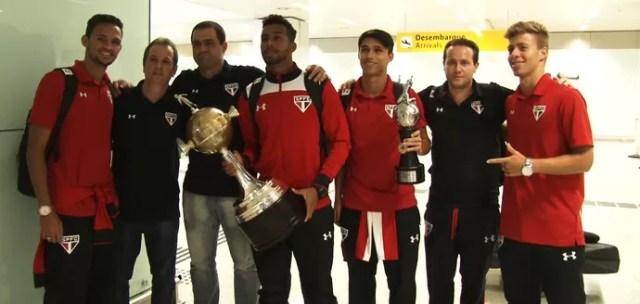 Campeões da Libertadores sub-20 São Paulo (Foto: Fernando Vidotto)