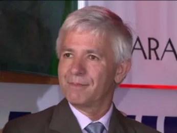 Geonísio Marinho (PRTB) é candidato ao Governo do Paraná (Foto: Reprodução/ RPC TV)