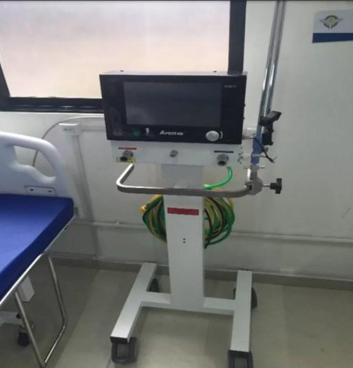Ventilador pulmonar adquirido pela Sesap que não funcionaram — Foto: Divulgação/CGU