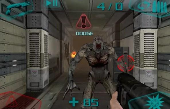 Doom Resurrection lembra mais o Doom tradicional mas com algumas diferenças (Foto: Reprodução/Touch Arcade)