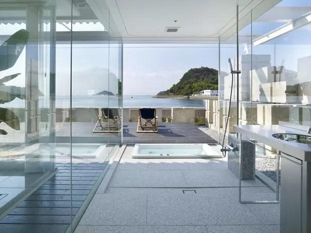 Paredes de vidro por dentro e por fora  Casa Vogue