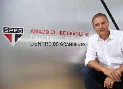 Diego Aguirre é o novo técinco do São Paulo (Foto: Rubens Chiri/saopaulofc.net)