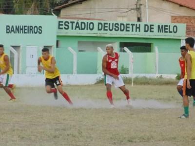 Treino Caiçara (Foto: Ricardo Andrade)