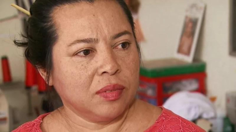 A costureira Matilde Melo Pinheiro de Oliveira, vítima de assalto no Planalto Verde, em Ribeirão Preto (SP) — Foto: Reprodução/EPTV