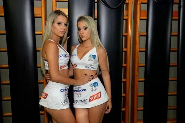 Ex-BBBs Amanda e Andressa (Foto: Divulgação/Leo Marinho)