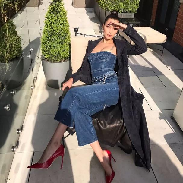 Bella Hadid (Foto: Instagram/Reprodução)