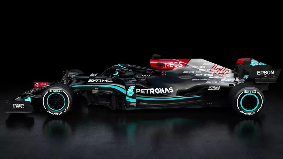 Mercedes W12 — Foto: Reprodução