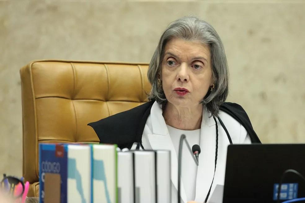 Cármen Lúcia, ministra do Supremo Tribunal Federal — Foto: Carlos Moura/SCO/STF