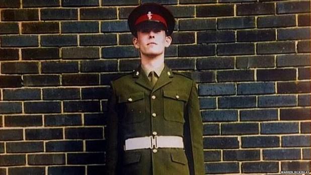 Pacientes como o soldado britânico Warren McKinlay acreditam que estão mortos ou que seus órgãos não existem mais  (Foto:  Warren McKinlay)