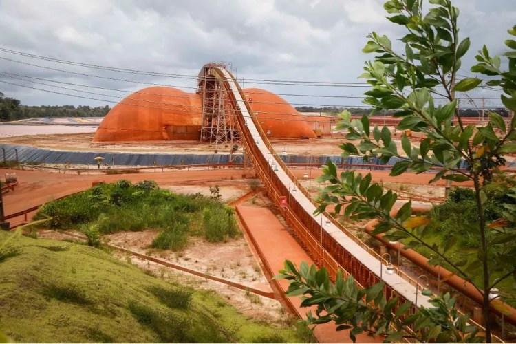 Refinaria da Hydro em Barcarena, no Pará (Foto: Tarso Sarraf / O Liberal)